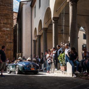 Historic Rally - Ferrari 166MM Mille Miglia 2018